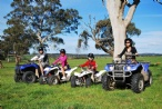 family quad bike ride
